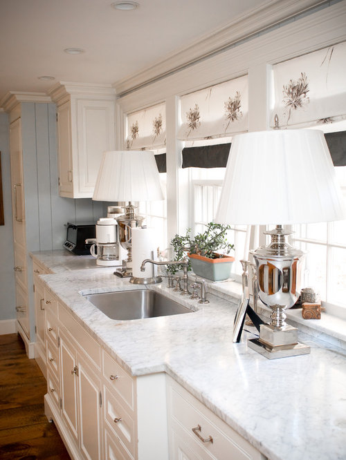 Carrera Marble Window Sill Design Ideas & Remodel Pictures | Houzz