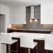 Contemporary Kitchen by Nicole Robb Interiors