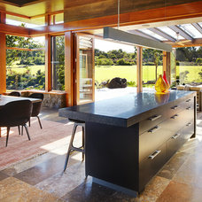 Asian Kitchen by Suzanne Hunt Architect