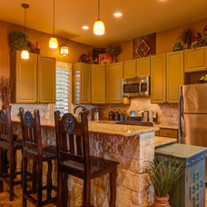 Southwestern Kitchen by Agave Custom Homes