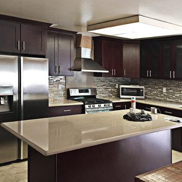 Beech Espresso by DVO Flooring Kitchen and Bath