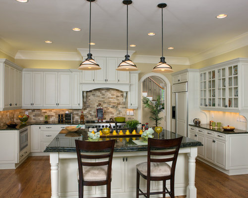 Best Verde Butterfly Granite Design Ideas & Remodel Pictures | Houzz