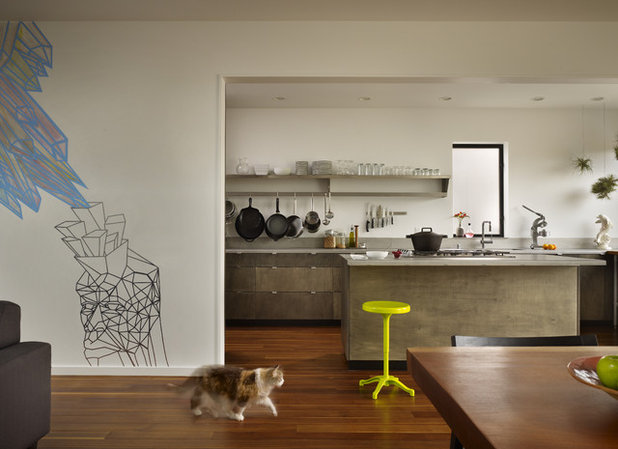 Modern Kitchen by chadbourne + doss architects