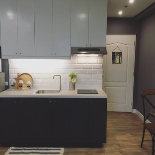 BEFORE & AFTER: A Very Little Kitchen Gets a Dramatic Update