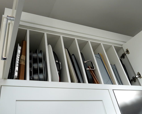 ... Vertical Tray Dividers | Houzz On Dish Cabinet Dividers, Kitchen  Cupboard Dividers, Kitchen Vertical ...