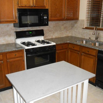Before and After Countertop Examples CALEDONIA  3x6 belmar pearl 1 15 14