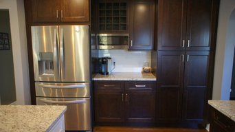 Before & After- Kitchen/Office remodel in Berlin, CT
