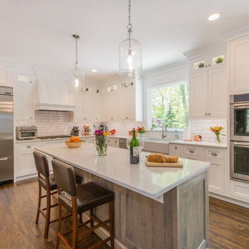 Before and After Kitchen Remodel in Randolph