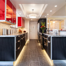 Contemporary Kitchen by Sand Castle Designs