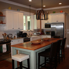 Traditional Kitchen by Real Life Builders, LLC