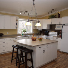 Contemporary Kitchen by Interiors by Mj