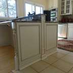 Weathered Wood Kitchen Island - Contemporary - Kitchen - San Diego - by Dura Supreme Cabinetry