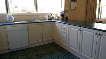 BEFORE Contemporary Country Kitchen in Ballarat