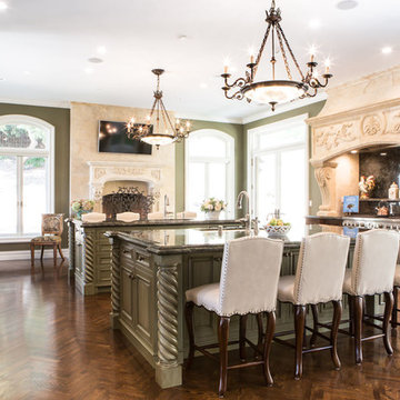 Bel Air Neo-Classical Kitchen