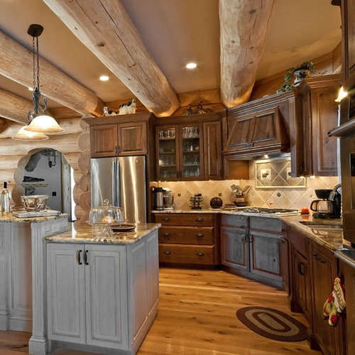 Kitchen Backsplash Rustic rustic backsplash | houzz