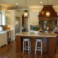 Eclectic Kitchen by catherine daisy interiors
