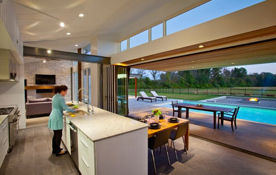 Kitchen of the Week: Open to the Outdoors in Ohio