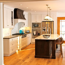 Beach Style Kitchen by Absolute Cabinets Inc