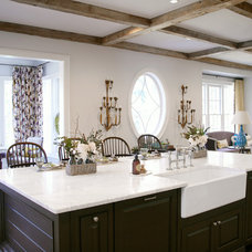 Traditional Kitchen by Barbara Brown Photography