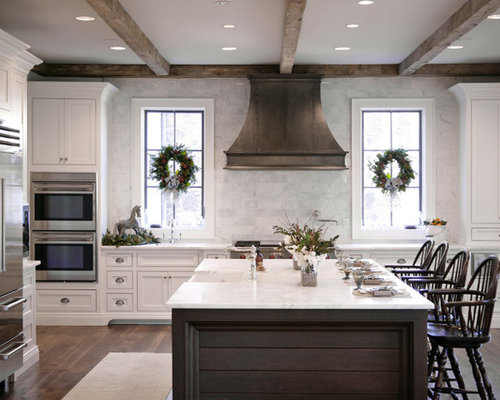 Metal Range Hood Home Design Ideas, Pictures, Remodel and ...