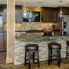 Eclectic Kitchen by Bella Homes