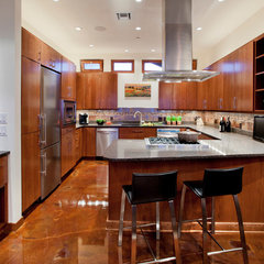 contemporary kitchen by L.EvansDesignGroup,inc