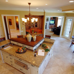 eclectic kitchen by Barenz Builders