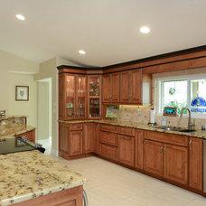 Beach Style Kitchen by Van Selow Design Build L.L.C.
