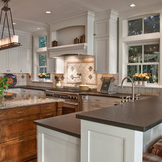 Traditional Kitchen by Luchsinger Interior Design