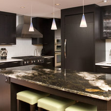 contemporary kitchen by NW Home Designers