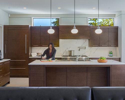 Fotos de cocinas dise os de cocinas con fregadero de - Senos de cocina ...