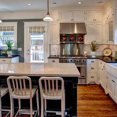 Craftsman Kitchen by Kathryn Tegreene Interior Design