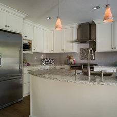 Transitional Kitchen by Beverly Bradshaw Interiors