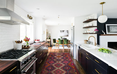 Add Warmth and Personality to Your Kitchen With a Runner Rug