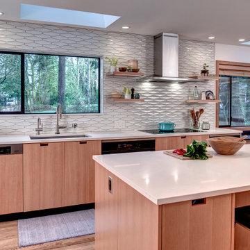Bellevue Modern Kitchen and Bath Renovation