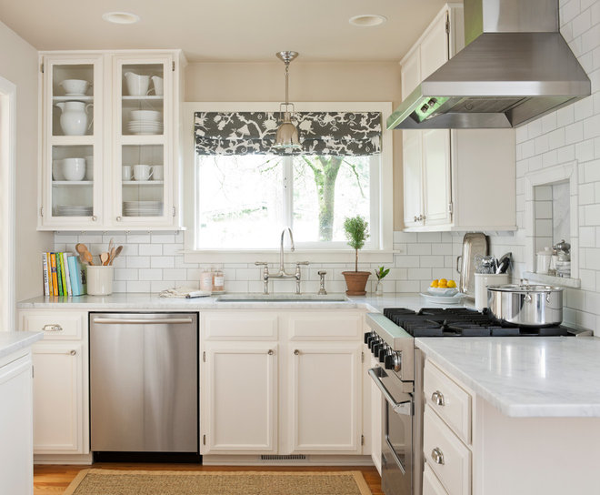 Traditional Kitchen by Marianne Simon Design