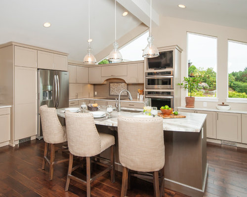 Best acacia floors design ideas remodel pictures houzz for Acacia kitchen cabinets