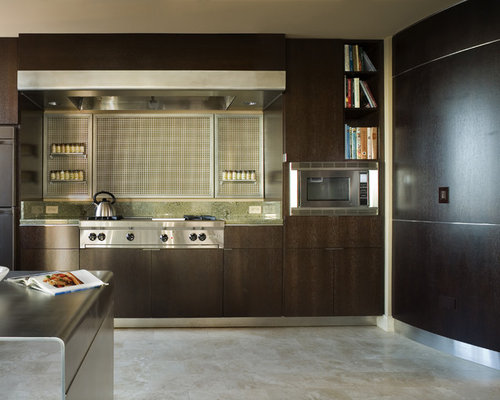Inspiration For A Contemporary Kitchen Remodel In Seattle With Stainless  Steel Appliances