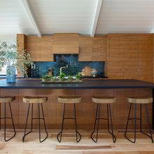Kitchen of the Week: Modern Teak Cabinetry Nods to Danish Design
