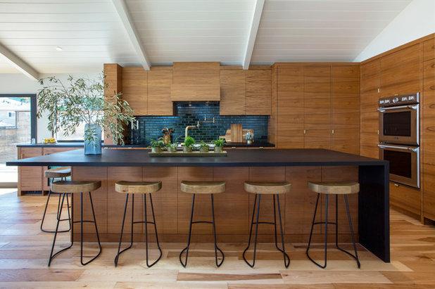 Contemporary Kitchen by Peninsula Modern