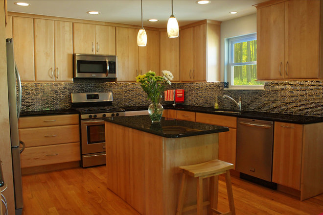Modern Kitchen by Amiano & Son Constrution, LLC