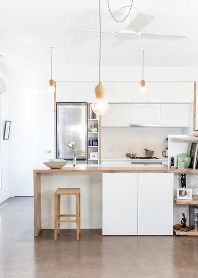 コンテンポラリー キッチン by Bios Design Build Sustain