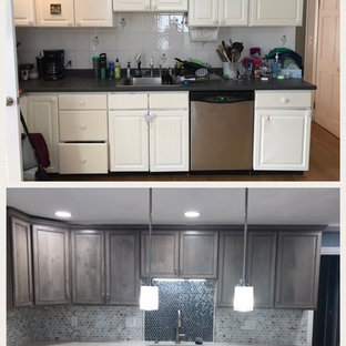 Belmont, Massachusetts New England Colonial House Kitchen Remodel and Redesign