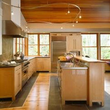 Contemporary Kitchen by Ben Trogdon Architects