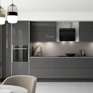 Benchmarx True Handleless Kitchen - Nordica Grey