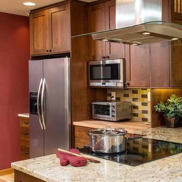 Toaster Oven On Quartz Countertop : ... to the refrigerator and with the toaster oven. Chandler Photography