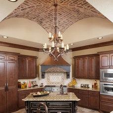 Mediterranean Kitchen by Morning Star Builders LTD