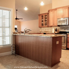 Traditional Kitchen by Zelmar Kitchen Designs & More, LLC