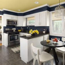 Contemporary Kitchen by Benjamin Moore