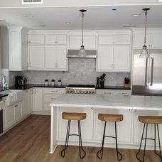 Contemporary Kitchen by La Costa Builders Inc
